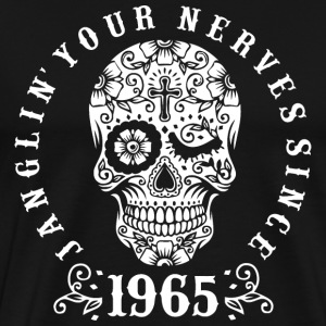 Janglin your nerves since 1965 - weiß T-Shirts - Männer Premium T-Shirt