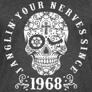 Janglin your nerves since 1968 - weiß T-Shirts - Männer Vintage T-Shirt