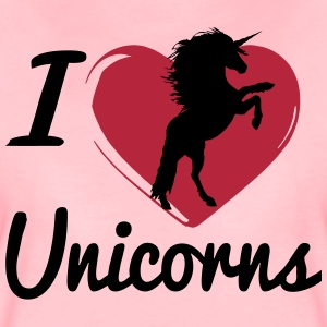 I love Unicorns -2017 T-Shirts - Frauen Premium T-Shirt