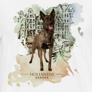 Dutch Shepherd Dog T-Shirts - Men's Premium T-Shirt