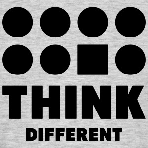 Think Different T-Shirts - Men's T-Shirt