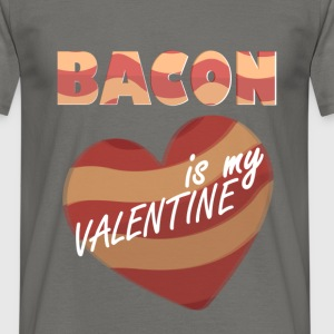 Bacon - Love is in the air nope that's BACON - Men's T-Shirt