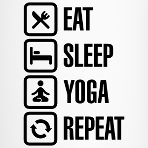 Eat Sleep Yoga repeat Tassen & Zubehör - Thermobecher