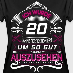 20 Jahre in Perfektion T-Shirts - Frauen Oversize T-Shirt