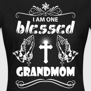 I Am One Blessed Grandmom T-Shirts - Women's T-Shirt