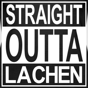 Straight outta  Lachen Tops - Frauen Premium Tank Top