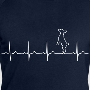Pinscher heartbeat - dog - pet - owner love Hoodies & Sweatshirts - Men's Organic Sweatshirt by Stanley & Stella