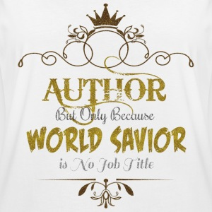 Author World Savior T-Shirts - Women's Oversize T-Shirt