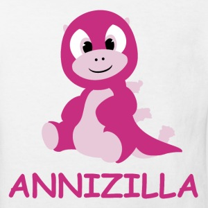 Annizilla in Pink.png T-Shirts - Kinder Bio-T-Shirt