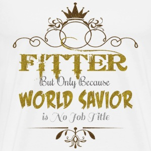 Fitter World Savior T-Shirts - Men's Premium T-Shirt
