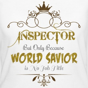 Inspector World Savior T-Shirts - Women's Organic T-shirt