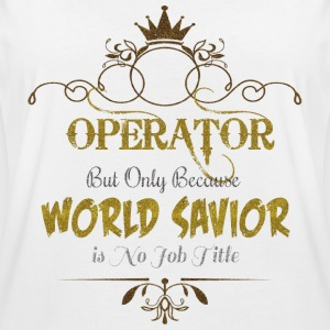Operator World Savior T-Shirts - Women's Oversize T-Shirt