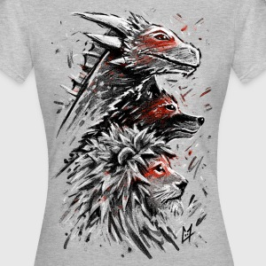 Dragon Wolf Lion T-Shirts - Women's T-Shirt