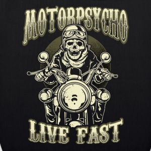 Motorpsycho Live Fast Bags & Backpacks - EarthPositive Tote Bag
