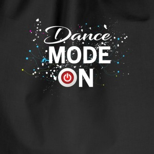 Dance Mode On - cool disco dancing design Taschen & Rucksäcke - Turnbeutel