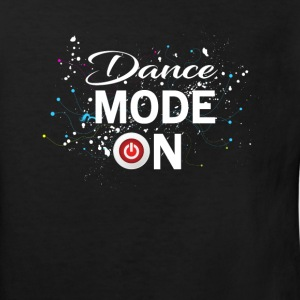 Dance Mode On - cool disco dancing design Tee shirts - T-shirt Bio Enfant