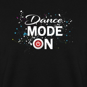 Dance Mode On - cool disco dancing design Felpe - Felpa da uomo