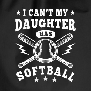 I can't my daughter has Softball Borse & Zaini - Sacca sportiva
