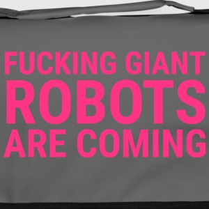 Giant Robots are Coming - Umhängetasche