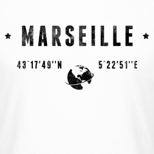 Marseille Tee shirts - T-shirt long homme