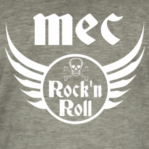 Mec Rock and roll  Tee shirts - T-shirt vintage Homme