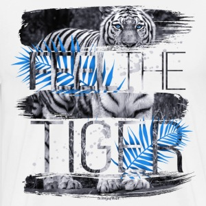 Feel the Tiger Männer Premium T-Shirt - Männer Premium T-Shirt