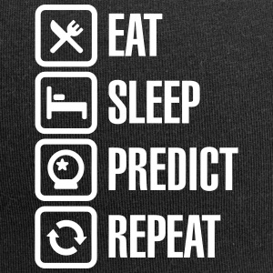 Eat Sleep Predict Repeat Caps & Mützen - Jersey-Beanie
