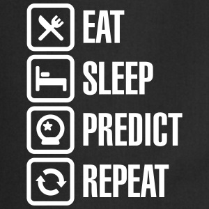 Eat Sleep Predict Repeat Tabliers - Tablier de cuisine