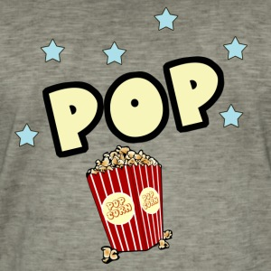 Pop corn Tee shirts - T-shirt vintage Homme