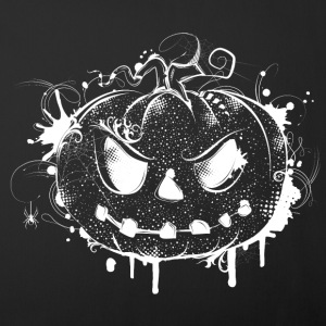 Halloween pumpkin - white drawing Other - Sofa pillow cover 44 x 44 cm