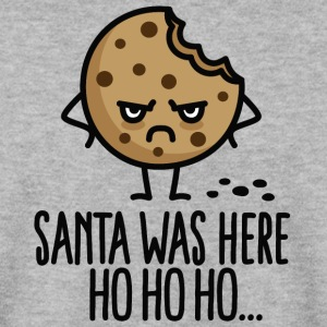 Santa was here Ho ho ho - Cookie Gensere - Genser for menn