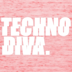 Techno DlVA Rave Princess Hard Techno Kind Music Tops - Frauen Tank Top von Bella