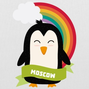 Penguin Rainbow from Moscow Bags & Backpacks - Tote Bag