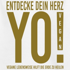 17.YO! VEGAN-German-Gold-Metallic - Teenager T-Shirt