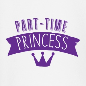 part time princess with royal crown Long Sleeve Shirts - Baby Long Sleeve T-Shirt