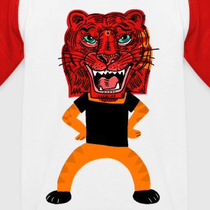 Tiger T-Shirts - Kinder Baseball T-Shirt