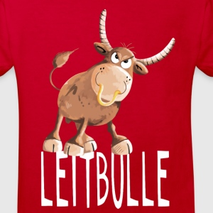 Leitbulle - Stier - Boss - Chef - Comic - Bulle T-Shirts - Kinder Bio-T-Shirt