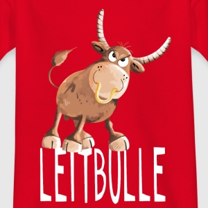 Leitbulle - Stier - Boss - Chef - Comic - Bulle T-Shirts - Teenager T-Shirt