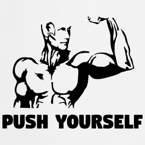 Push Yourself - Fitness Delantales - Delantal de cocina