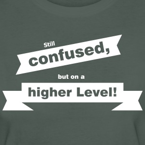 Confused on a higher Level T-Shirts - Frauen Bio-T-Shirt