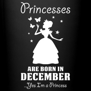 Princesses Are Born In December Mugs & Drinkware - Full Colour Mug