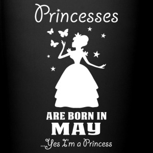 Princesses Are Born In May Mugs & Drinkware - Full Colour Mug