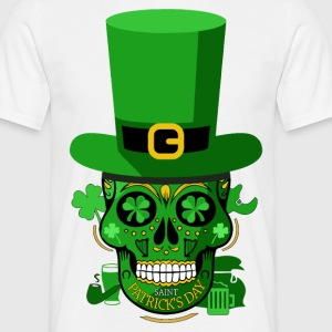 Skull St patrick Tee shirts - T-shirt Homme