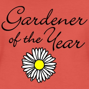 Gardener of the Year Gärtnerinnen T-Shirt - Frauen Premium T-Shirt