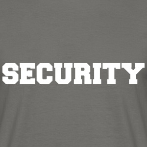 SECURITY T-Shirts - Männer T-Shirt