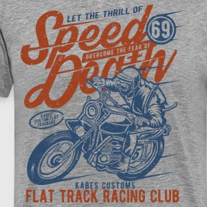 Flat Track Racing Club - Men's Premium T-Shirt