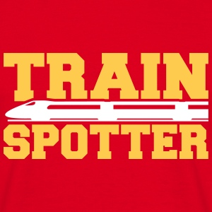 Train Spotter T-Shirts - Männer T-Shirt