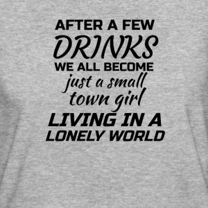 Just A Small Town Girl T-shirts - Organic damer