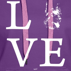 Shepherd Love Hoodies & Sweatshirts - Women's Premium Hoodie