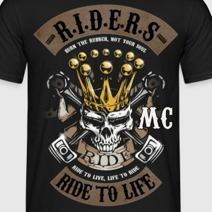 MC ride skull Tee shirts - T-shirt Homme